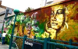 Brooklyn 2012: by the Morgan St. L train stop