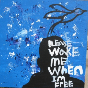 Baltimore, Maryland, 2012: Art and poetry project with incarcerated youth. With Class Acts Art