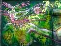 """Brooklyn 2012: """"Four-Face"""" detail shot"""