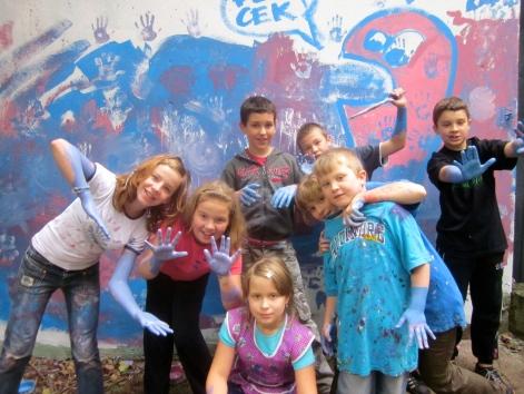 The kids of Wrzeszcz!
