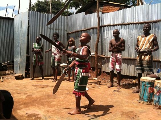 The talented kids of Kibera Hamlets!