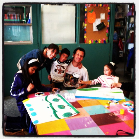 Bringing the arts to severely ill children in the Mexico City Children's Hospital.