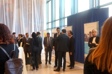 Photography reception at the UN