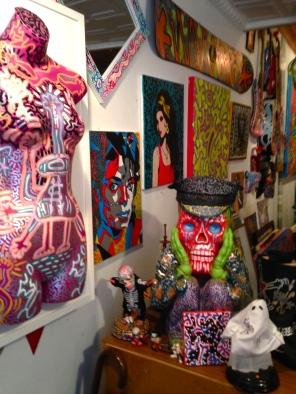 LA2's studio in the East Village