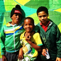 the lil' men of Cape Town
