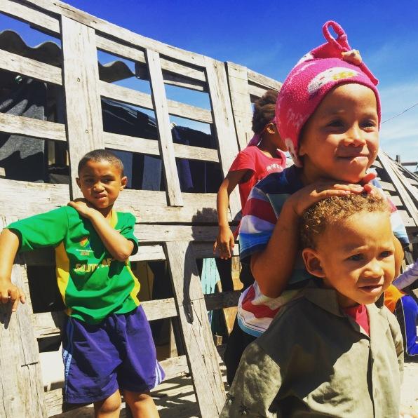 the kids of Strandfontein