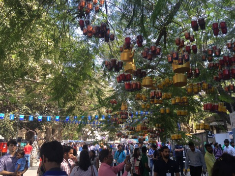 The Kala Ghoda Art Festival in Mumbai