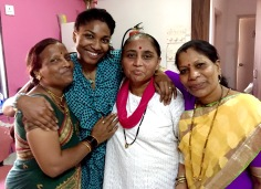 CJ and her talented women performers in Mumbai