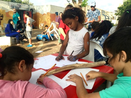 Art workshop in Akko