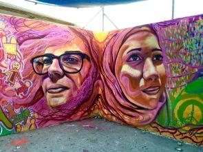 Detail from East Jerusalem mural