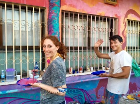 South Tel Aviv: US Artist Ilana Price participated in many Artolution projects