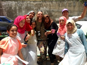 Nablus, West Bank project with youth from the Balata Refugee Camp