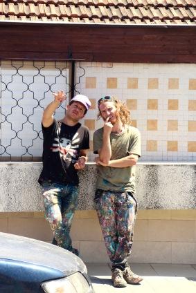 Joel and Max