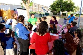 Community workshop in Akko