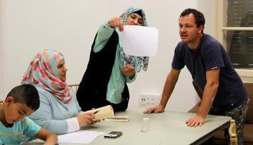 East Jerusalem art workshop