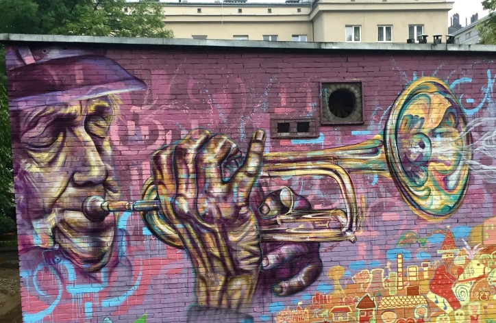 the trumpeter