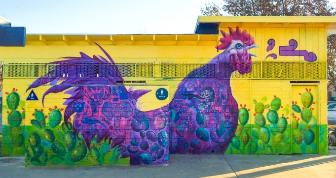 Planada, California 2016: ¡El Gallo Canta! Celebrating local culture in the rural agricultural communities of the Central Valley.